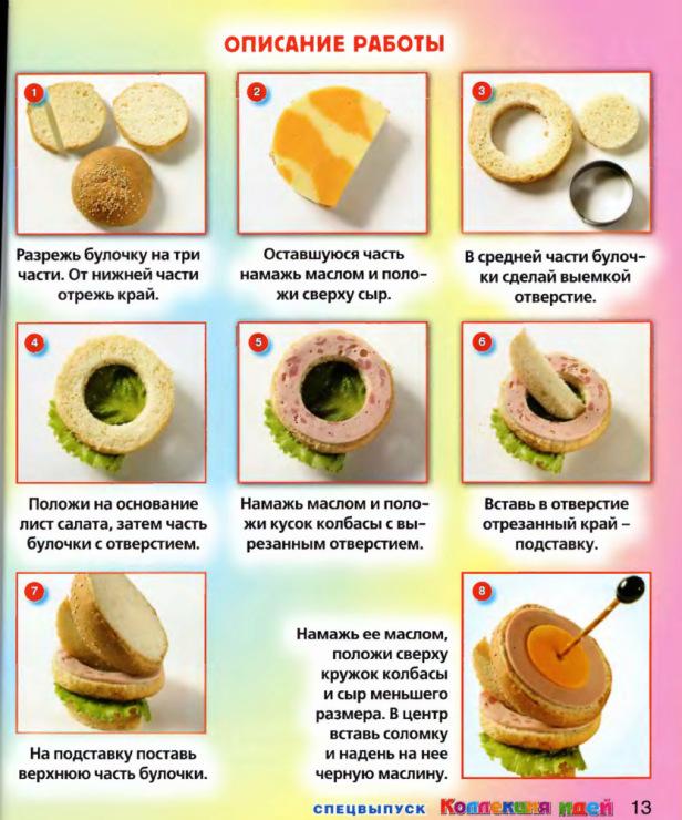 Рецепты картинках пошагово фото