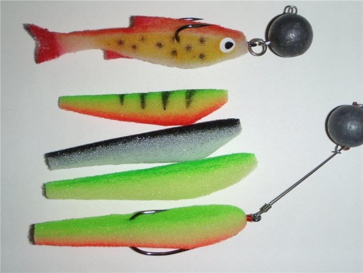 Джиг поролоновая рыбка своими руками 42
