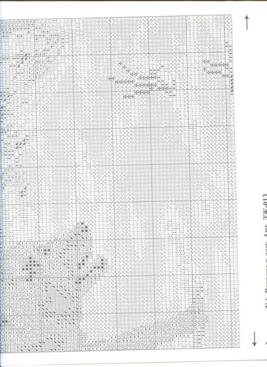 Встреча в лесу схема вышивки 76
