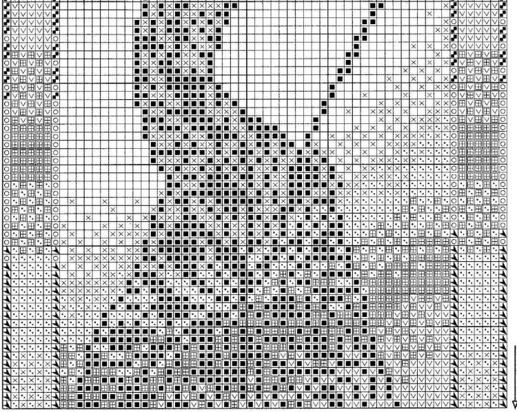 Схема вышивки килиманджаро 58