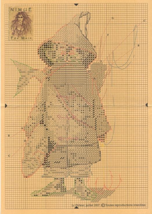 Nimue Схемы для вышивки крестом Печатная продукция 99