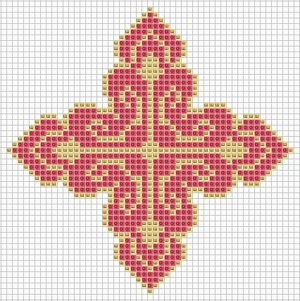 Вышивание крестиком крест