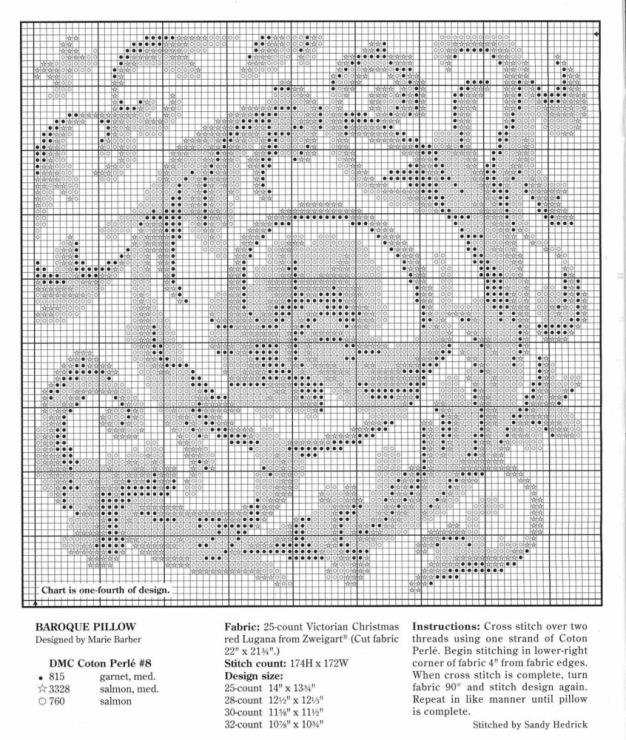 Меланж схема для вышивки 88