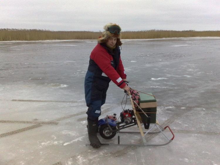 купить мотофинки для рыбалки с ездой по снегу