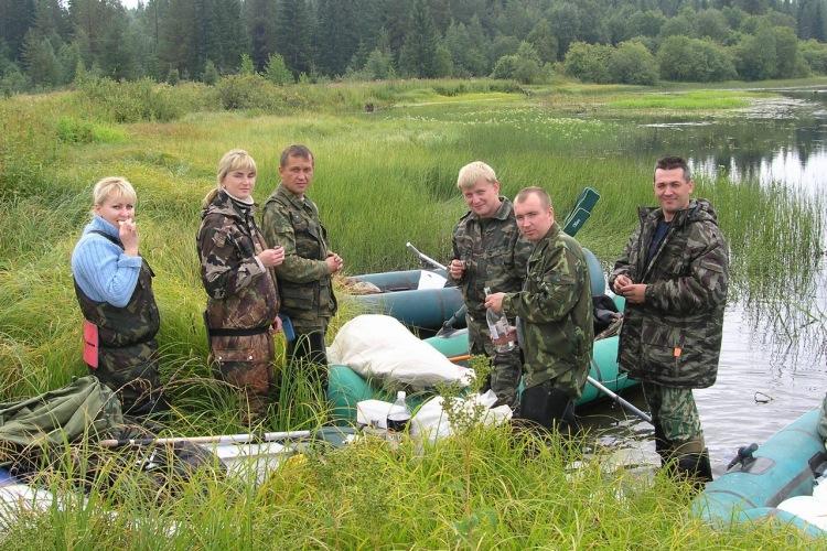 сплав на резиновой лодке по москва реке до звенигорода