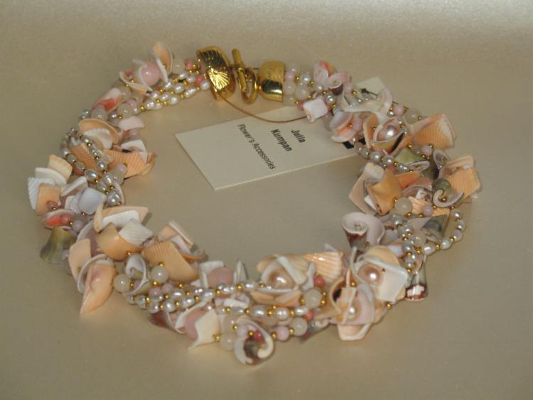 Ожерелье своими руками из ракушек 403