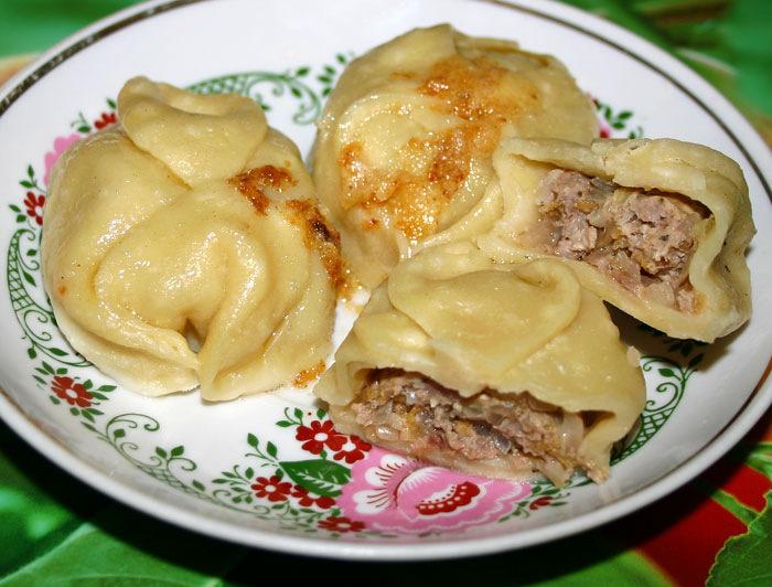 Тесто на манты рецепт с пошагово с картофелем и фаршем
