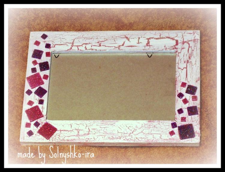 Раскрасить рамку для фото своими руками 7