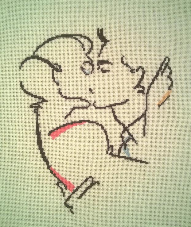 схемы для вышивки поцелуй ангела