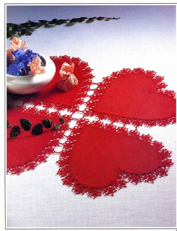 Вязание день святого валентина