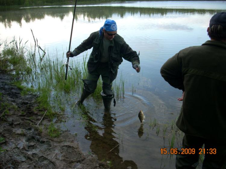 Рыбалка в рахье
