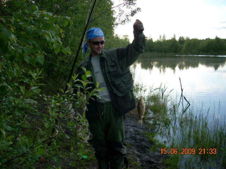 рыбалка в карьерах всеволожского района