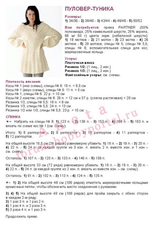 Модели для беременных спицами схемы